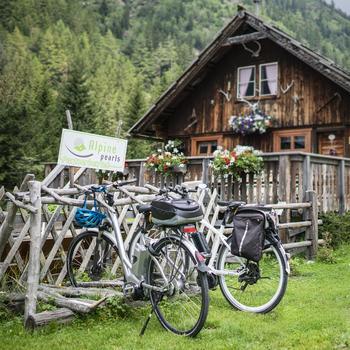 Mountainbikes bei der Raineralm