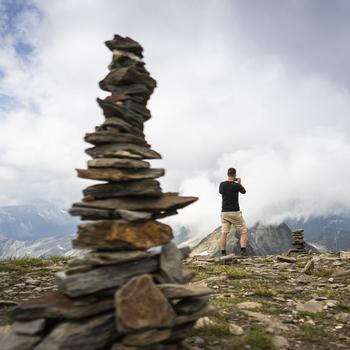 Von der Arnoldhöhe hat man einen fantastischen Ausblick