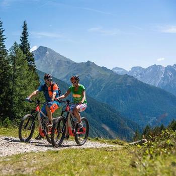 Mountainbiken und E-Biken rund um Mallnitz