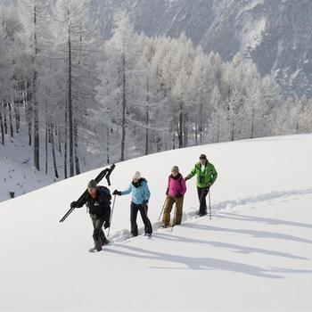 Schneeschuhtrekking im Seebachtal