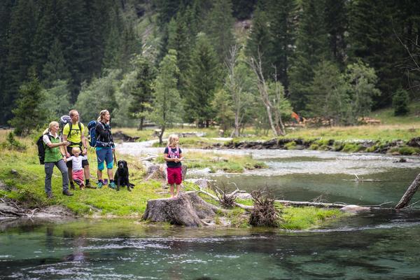 Familienwanderung Seebachtal