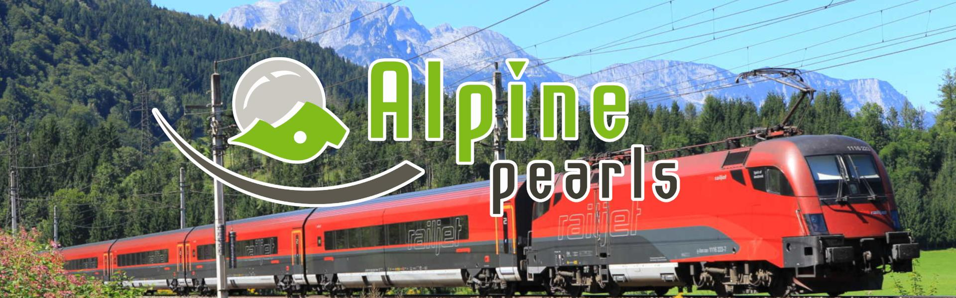 Alpine Pearls - Railjet